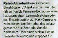 Hamburger Abendblatt am 14.4.2012